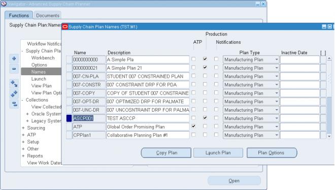 Creating Supply Chain Plans | OracleUG