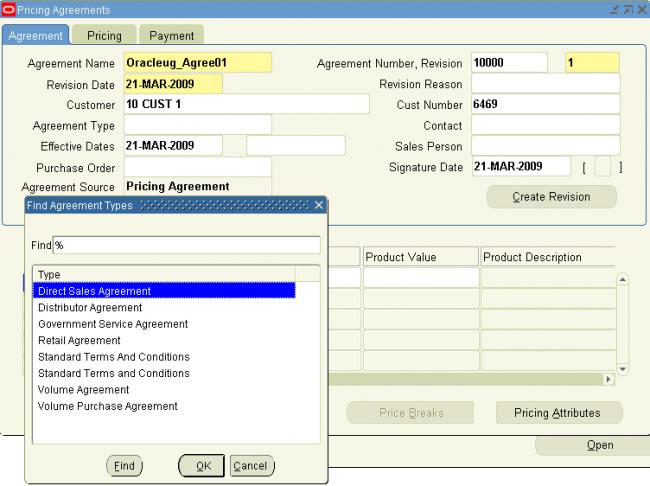 Pricing Agreements | OracleUG